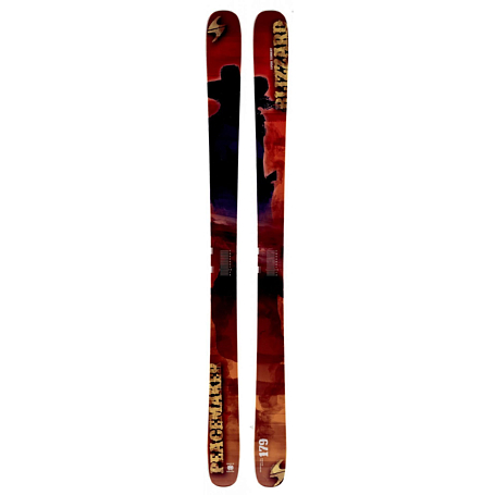 Горные лыжи Blizzard 2014-15 Free Ride PEACEMAKER(FLAT) RED-ORANGE-YELLOW