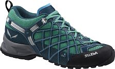 Треккинговые Кроссовки Salewa Tech Approach WS Wildfire S Gtx Cypress/river Blue