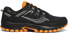 Беговые кроссовки Saucony 2019-20 VERSAFOAM EXCURSION TR13 GTX Black/Orange