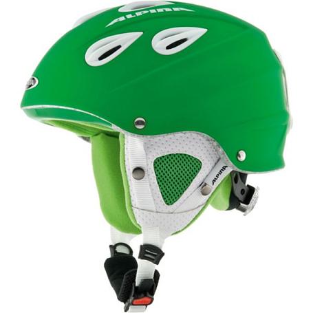 Купить Зимний Шлем Alpina ALL MOUNTAIN GRAP green matt, Шлемы для горных лыж/сноубордов, 1131111
