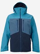 Куртка Сноубордическая Burton 2016-17 M AK 2L Swash JK Lrksr/wshd Blu/eclps