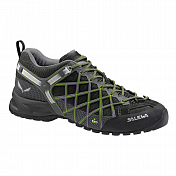 Треккинговые Кроссовки Salewa Tech Approach WS Wildfire S Gtx Black/emerald