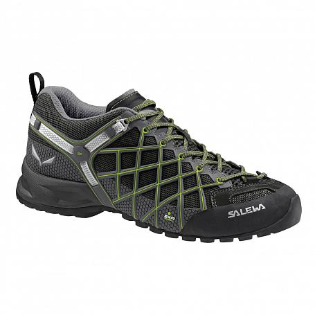 Купить Ботинки для треккинга (низкие) Salewa 2017 WS WILDFIRE S GTX Black/Emerald Треккинговая обувь 1205684