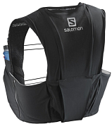Рюкзак Salomon S/L SENSE 8 ST Black/Racing Rd