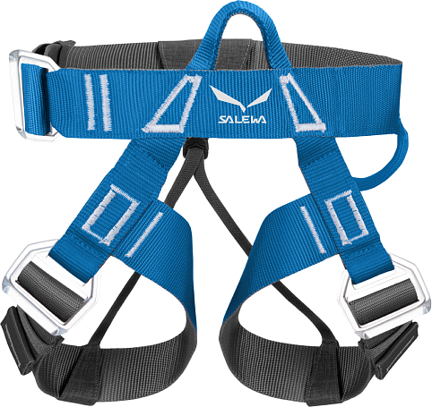 Обвязка Salewa 2015 Hardware VIA FERRATA EVO ROOKIE harness (XXS/S) POLAR BLUE/ CARBON