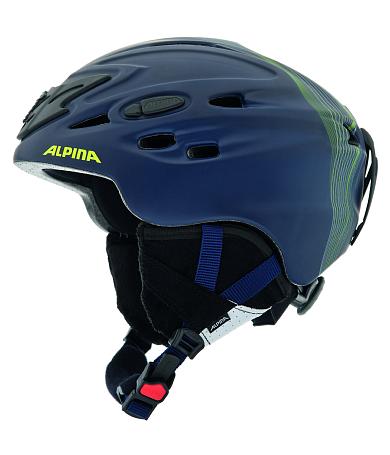 Купить Зимний Шлем Alpina 2015-16 ALL MOUNTAIN SCARA blue navy matt, Шлемы для горных лыж/сноубордов, 1194017