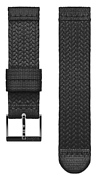 Ремешок Suunto 2020-21 Athletic 5 Textile, 20mm Black/Black
