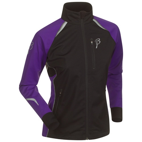 Куртка беговая Bjorn Daehlie Jacket CHAMPION Women Black/Tillandsia Purple (черный/фиолетовый)