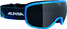 Очки горнолыжные Alpina SCARABEO MM sph. (CC) translucent blue MM black  S3 / MM black  S3