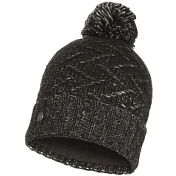 Шапка Buff KNITTED & POLAR HAT EBBA BLACK