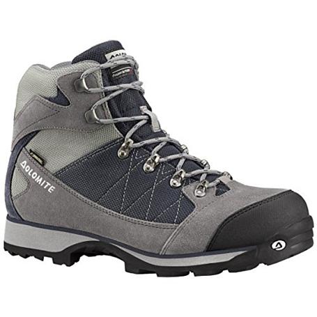 Купить Ботинки для хайкинга (высокие) Dolomite 2017-18 Davos Gtx Gunmetal/Night Blue, Треккинговая обувь, 1328389