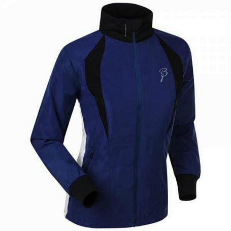 Купить Куртка беговая Bjorn Daehlie JACKET/PANTS Jacket FUSION Women Evening Blue/Black/Snow White (Т.Синий/черный/белый) Одежда лыжная 1102851