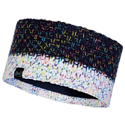 Повязка Buff Knitted & Fleece Headband Janna Night Blue
