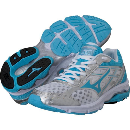 Купить Беговые кроссовки элит Mizuno 2014 Wave Advance бел/гол/сереб, Кроссовки для бега, 1136323