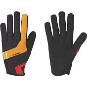 Перчатки велосипедныеЛегкие перчатки для марафонов и гонок кросс-кантри&amp;nbsp;<br> <br> -длинные пальцы&amp;nbsp;<br> -тыльная сторона из сетчатого материала<br> -защита из материала Clarino на большом и указательном пальцах<br> -удлиненная ладонь в районе указательного пальца для лучшего сцепления&amp;nbsp;<br> -однослойная перфорированная ладонь для оптимальной чувствительности и вентиляции<br><br>Пол: Унисекс<br>Возраст: Взрослый<br>Вид: рубашка