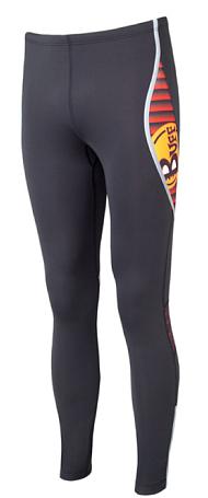 Купить Тайтсы беговые BUFF LONG TIGHTS MARS (BLACK) черный Одежда для бега и фитнеса 759110