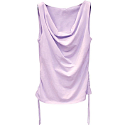 Майка для активного отдыха EA7 Emporio Armani 2016 WOMANS KNIT TANK PURPLE HEATHER