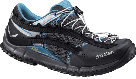 Треккинговые кроссовки Salewa 2015 Hike Approach Womens WS SPEED ASCENT Carbon/Pagoda /