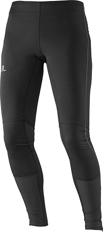 Тайтсы беговые SALOMON 2016 AGILE  LONG TIGHT W BLACK