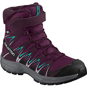 Ботинки SALOMON XA Pro 3D Winter TS CSWP J Dk Purple/Potent Purple/Atlantis