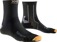 Носки X-bionic 2016-17 X-socks Run Fast B000 / Черный