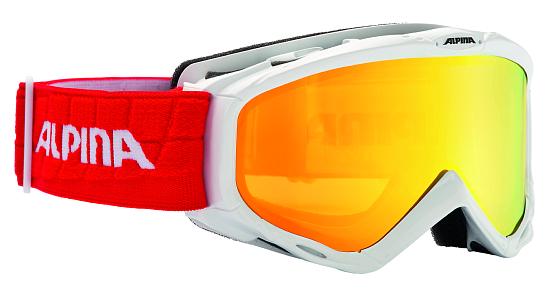 Купить Очки горнолыжные Alpina 2015-16 Race SPICE R white-red 1194185