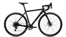 ВелосипедЦиклокроссовые<br>Циклокроссовый велосипед&amp;nbsp;<br> <br> <br> Особенности:<br> <br> - рама разработана специально под «грунтовые» скорости и переноску велосипеда на плече<br> - уникальные дропауты, изготовленные при помощи CNC фрезеровки, и крепление колес осями Sram Maxle Stealth дает еще большую уверенность, прочность и надежность<br> <br> <br> Технические характеристики:<br> <br> Рама: 700C, CX, алюминиевый сплав U6, тройной баттинг, конический рулевой стакан, внутренняя проводка, евро каретка<br> Размер рамы: S, M, L, XL&amp;nbsp;<br> Вилка: Карбон<br> Тип вилки: жесткая<br> Диаметр колес: 700C<br> Кол-во скоростей: 11<br> Переключатель задний : Sram RD-APEX 1<br> Переключатель передний: -<br> Шифтеры: Sram APEX 1 HRD<br> Тип тормозов: дисковые гидравлические<br> Тормоза: ram Apex HRD, 160/160 мм<br> Система: Sram Apex, FC-S350 24 мм, 170 мм (470-510), 175 мм (550-590)<br> Кассета: 11-42<br> Покрышки: Schwalbe G-One, 700x35C<br>