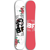 Сноуборд BF snowboards Special Lady 2017-18 black rose