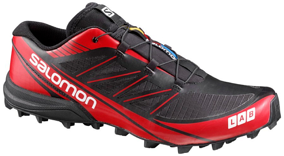 Купить Беговые кроссовки для XC SALOMON S-LAB FELLCROSS 3 BLACK/RD/WH Кроссовки бега 1245590