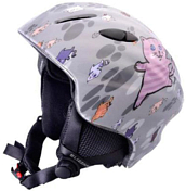 Зимний Шлем BLIZZARD Magnum ski helmet, grey cat shiny