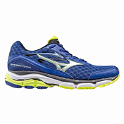 Кроссовки Elite Mizuno 2016 Wave Inspire 12 Син/сереб/желт