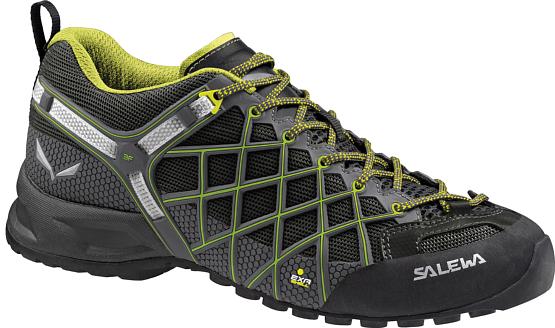 Купить Ботинки для треккинга (низкие) Salewa 2017 MS WILDFIRE S GTX Black/Citro, Треккинговая обувь, 1205640
