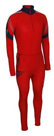 Купить Комплект беговой Bjorn Daehlie Race suit COMPETITION (Formula One/Navy) красный/т. синий, Одежда лыжная, 710217