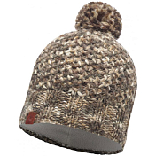 Шапка Buff KNITTED & POLAR HAT MARGO BROWN TAUPE