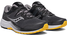 Беговые кроссовки Saucony 2020 Omni Iso 2 Grey/Black/Yellow