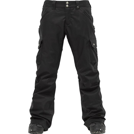 Брюки сноубордические BURTON 2011-12 Womens burton outerwear LUCKY PANT TRUE BLACK