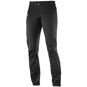 Брюки беговые SALOMON 2017-18 LIGHTNING SSHELL PANT W Black