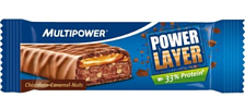 Батончик Multipower Power Layer Schoko-Karamel 60g