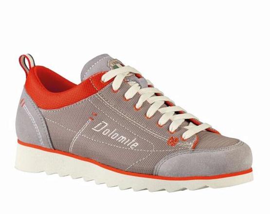 Купить Ботинки городские (низкие) Dolomite 2017 Cinquantaquattro Travel Sport Grey/Red, Обувь для города, 1188277