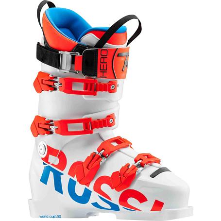 Купить Горнолыжные ботинки ROSSIGNOL 2017-18 HERO WORLD CUP 130 WHITE Ботинки горнoлыжные 1363766