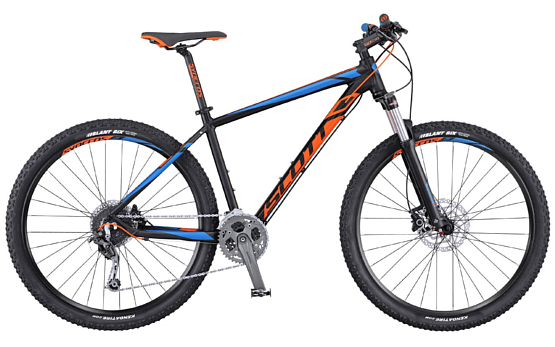Велосипед Scott Aspect 930 black/orange/blue 2016
