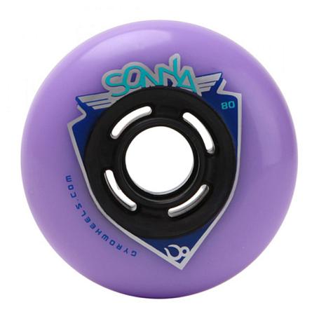 Купить Колеса GYRO SONIC&SONYA violet, Аксессуары для роликов, 745566