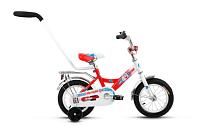 Велосипед Altair City Boy 12 2017 Белый/красный