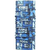 БанданаАксессуары Buff ®<br>Бесшовная бандана-труба из специальной серии Star Wars BUFF®.Защита от ветра, пыли, влаги и ультрафиолета. Контроль микроклимата в холодную и теплую погоду, отвод влаги. Ткань обработана ионами серебра, обеспечивающими длительный антибактериальный эффект и предотвращающими появление запаха. Допускается машинная и ручная стирка при 30-40°. Материал не теряет цвет и эластичность, не требует глажки. Original BUFF® можно носить на шее и на голове, как шейный платок, маску, бандану, шапку и подшлемник. Можно использовать в любое время года, при занятиях любым видом спорта, активного отдыха, туризма или рыбалки.