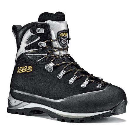 Купить Ботинки для альпинизма Asolo ALPINE Sherpa GV MM Black-Silver, Альпинистская обувь, 899161