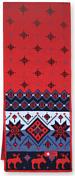 ШарфШарфы<br>Детский вязаный шарф с норвежским узором<br>Размер: 20 х 120 см<br>Материал: 50% шерсть мериноса, 50% полиакрил