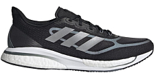 Беговые кроссовки Adidas Supernova + M Core Black/Silver Metallic/Blue Oxi