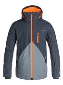 Куртка сноубордическая Quiksilver 2015-16 Mission Block M SNJT IRON GATE