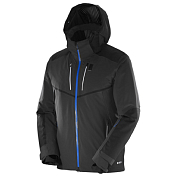 Куртка Горнолыжная Salomon 2016-17 Whitefrost Flowtec Jkt M Black