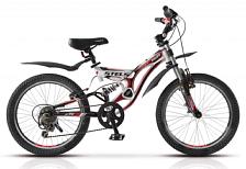 Велосипед Stels 20 Pilot 270 2014 Белый/красный